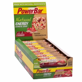 PowerBar Natural Energy Cereal Strawberry & Cranberry (24)