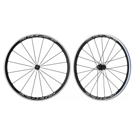 Shimano (WH-R9100) 10-11 Spd Road Carbon Wheelset Clincher C40