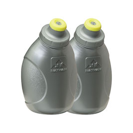 Nathan flask w/push pulls (Pack Of 2)