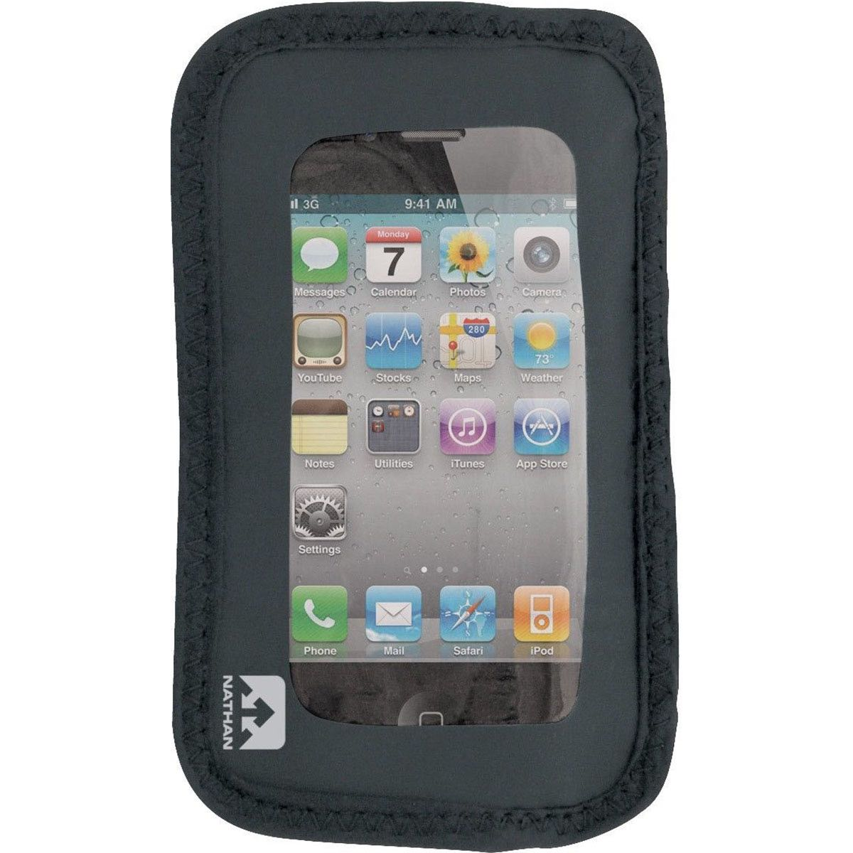6512NG Nathan Add-On Weather-Resistant Phone Pocket